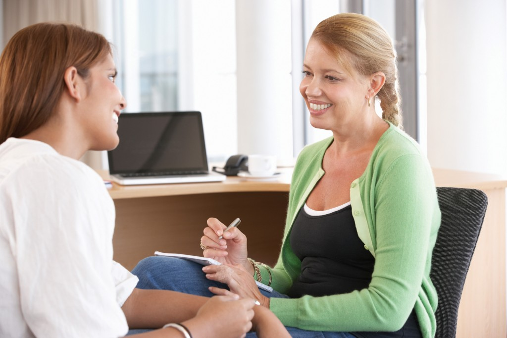 Young Woman Having Counselling Session